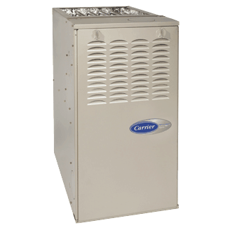 Carrier Performance 80 Boost gas furnace.