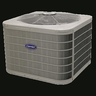 Carrier Performance 16 heat pump.