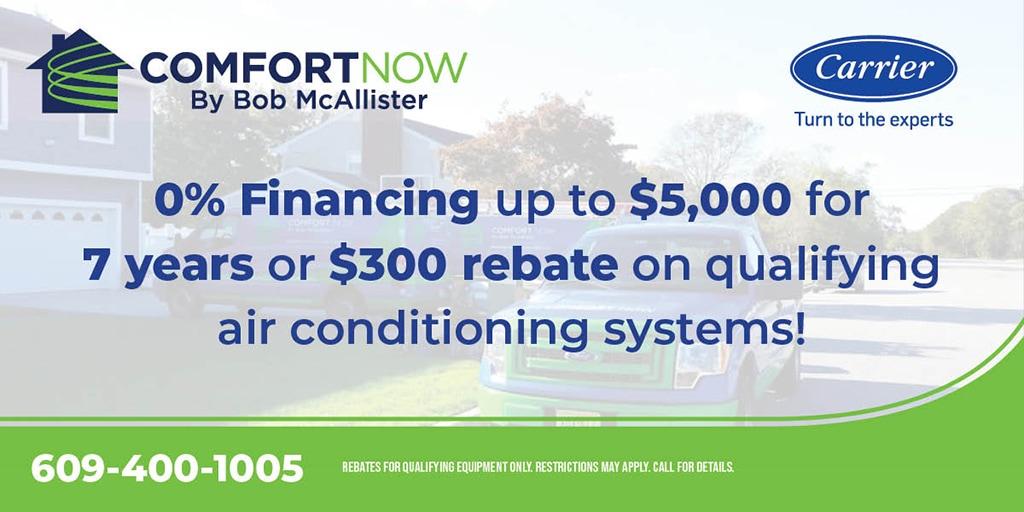 air conditioning rebates