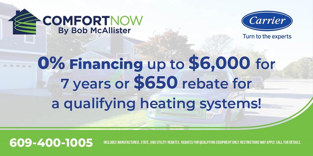 heating systems rebate
