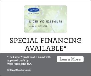 Carrier Wells Fargo financing