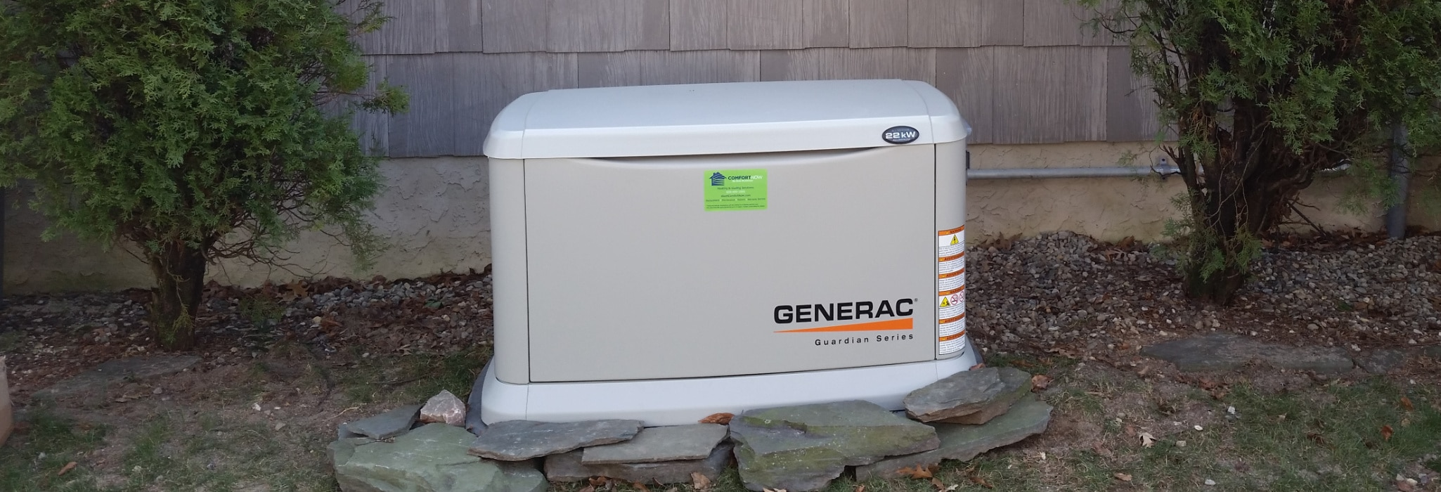 Whole house generator service.